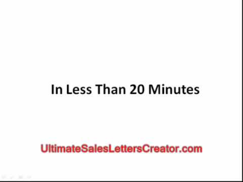 The Ultimate Marketing Letter Creation Software
