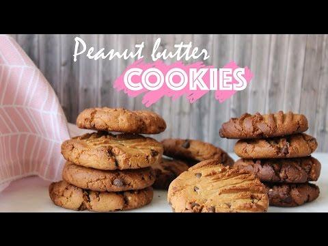 Peanut butter cookies // no eggs, dairy-free = vegan // LECAMILLEZOLEBLOG