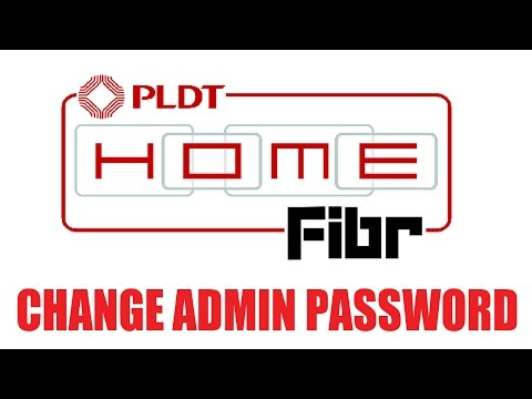 How to Change Admin User Password in PLDT Home Fibr Router