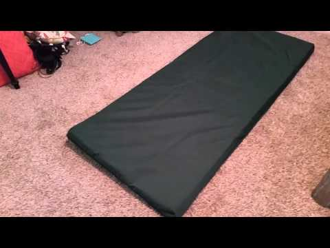$40 Foam Mattress @ Home Depot 4 Truck Camping