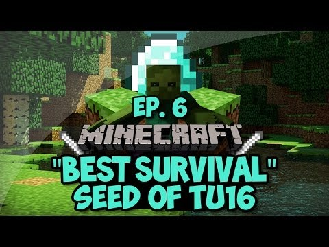 Minecraft Xbox 360/PS3 : Best TU16 Seed! (Desert Villages, Temples, End Portal, and More!)