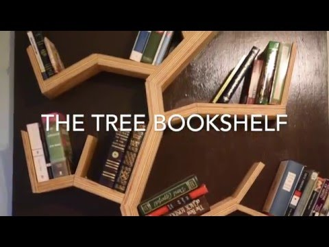 DIY: How To Make A Tree Bookshelf