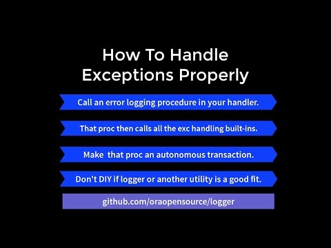 How to Handle Exceptions Properly - Part 3