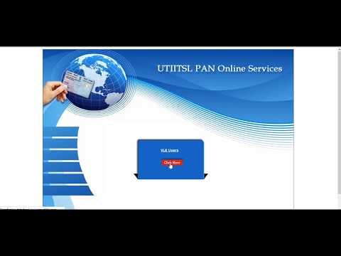 PAN CARD APPLY NEW PROCESS IN UTI  पैन कार्ड बनाने का नया प्रोसेस