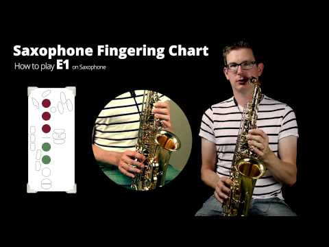 How to play E1 on Saxophone