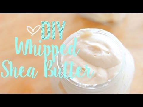 ♡ Whipped Shea Butter | DIY