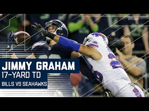 Can't-Miss Play: Jimmy Graham One-Handed Touchdown Catch | Bills vs. Seahawks | NFL