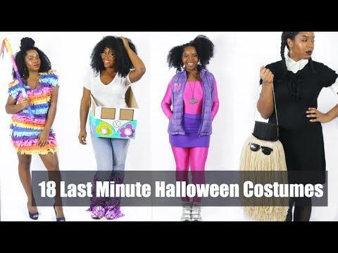 18 Last-Minute Halloween Costume Ideas | DIY & More
