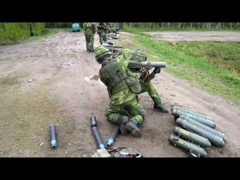 Skottdrama p militrt skjutflt