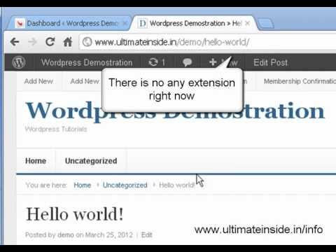 How to add html extension in WordPress post - No installation required