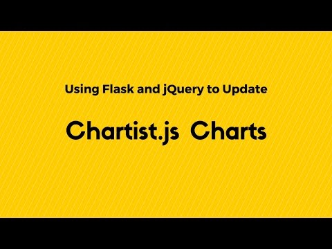 Dynamic Chartist.js Charts Using Flask and jQuery