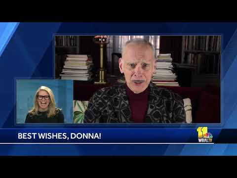 John Waters wishes Donna well