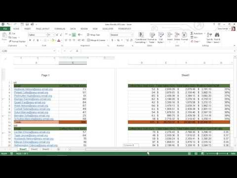 Insert Headers or Footers into Your Excel 2013 Document For Dummies