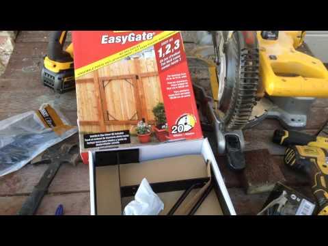 Homax EasyGate Frame Tutorial