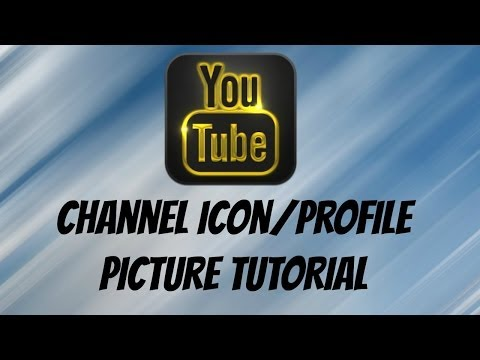 How To Make A YouTube Channel Icon/Profile Picture (2014) Simple And Easy! [NO PHOTOSHOP]
