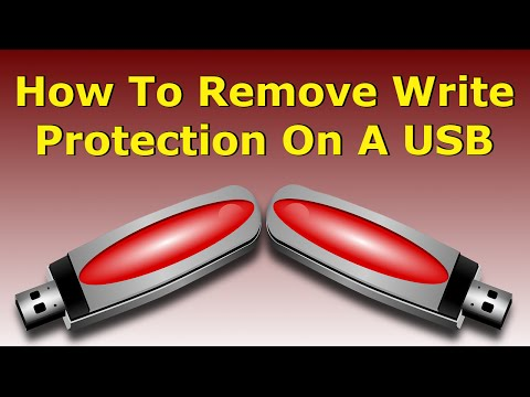 How To Remove Write Protection On A USB Drive In Windows 10