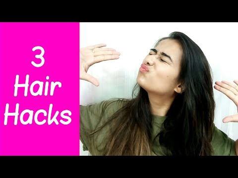 3 Hacks for FRIZZY hair | Guide to frizz free hair