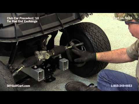 Club Car Precedent Tie Rod | How to Replace on Golf Cart