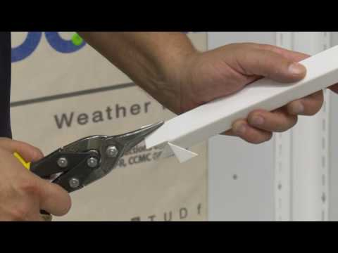 Installing J Channel for CertainTeed Vinyl Siding