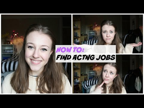 How To Find Acting Jobs | Georgie Minter-Brown