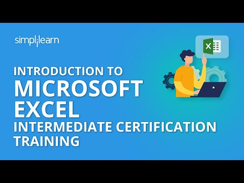 Introduction to Microsoft Excel Intermediate Certification Training