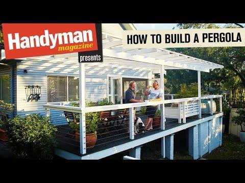 How To Build A Timber Pergola