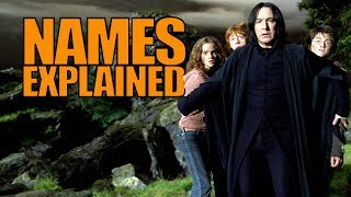 How JK Rowling Named Everything in the Harry Potter Universe