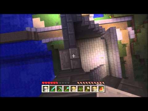 Minecraft Xbox 360 1.8.2 #39 - Iron Blocks, Stone Bricks and Building