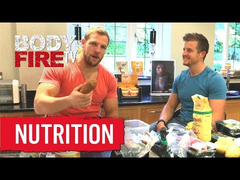 The Daily Food Consumption of a Rugby Player - BodyFire TV