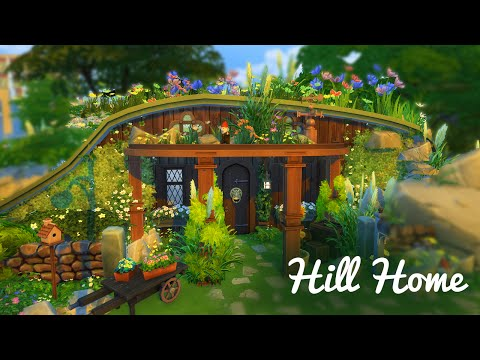 Hobbit Hill House | The Sims 4 Build