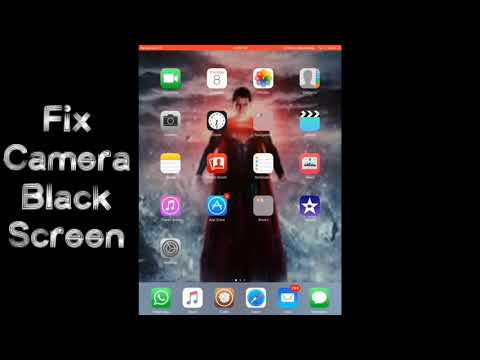 FIX IOS  BLACK CAMERA SCREEN!(iPhone,iPad,iPod)