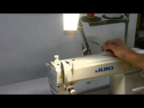 Threading Guide for Juki DDL-8700 Single Needle machine - ABC Sewing Machine