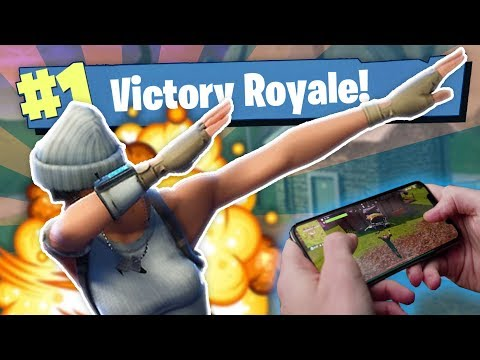 THE WORLDS BEST* FORTNITE MOBILE PLAYER