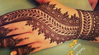 Stunning and beautiful mehndi design for backhand |easy mehndi designs for beginner |