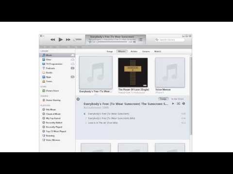 How to Join the Tracks of an Audiobook in iTunes 11