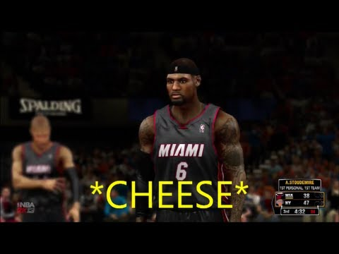 NBA 2K13 - Some More Miami Cheese
