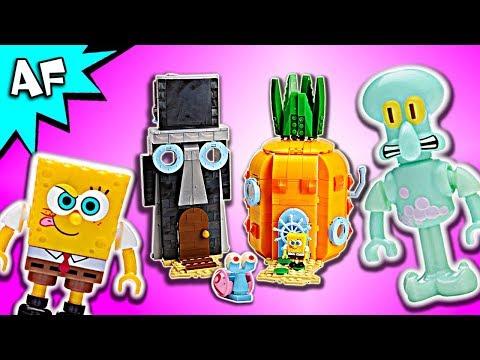 Mega Bloks SpongeBob BAD NEIGHBORS Speed Build