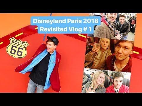 Vlog #1 | Eurostar, Santa Fe Hotel & Disney Village! | Disneyland Paris Revisited 2018