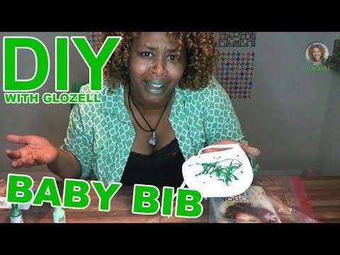 DIY with GloZell - Baby Bib