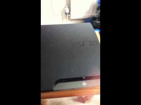 Self cleaning PS3 (Fan test)