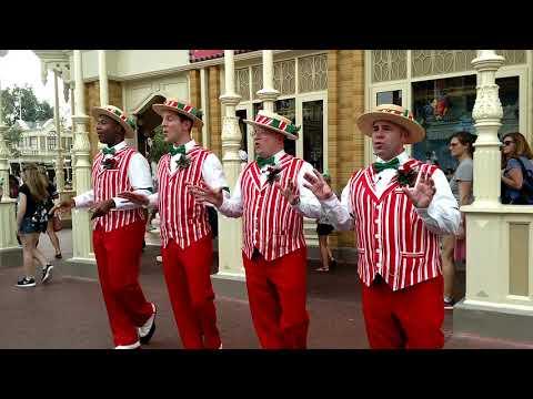 The Walt Disney World Main Street USA Dapper Dans!