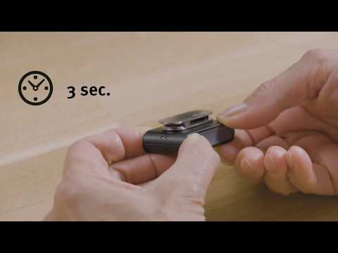 How to turn your Oticon ConnectClip on