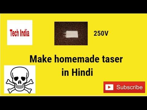how to make electric taser 250v