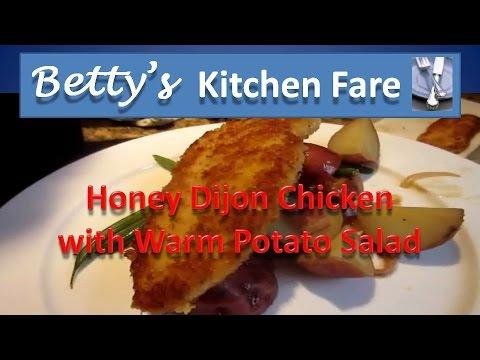 Honey Dijon Chicken and Warm Potato Salad