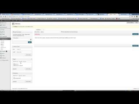 How to change the Wordpress homepage name