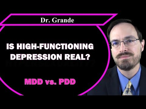 What is High-Functioning Depression? | Is the term needed?