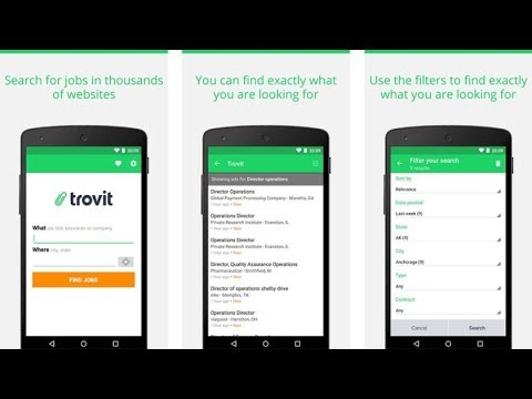 Top 10 best job search apps for Android
