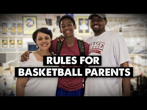 Rules for Basketball Parents (For the Love of the Game)