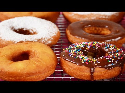 Cake Doughnuts Recipe Demonstration - Joyofbaking.com