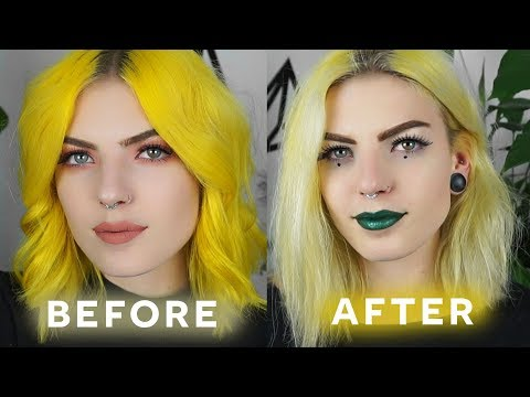 HOW TO REMOVE HAIR DYE WITHOUT BLEACH | easy diy at home